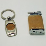 Isqueiro e porta chaves
