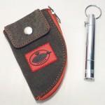 Porta chaves lanterna e bolsa