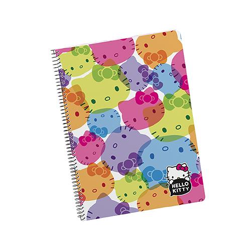Caderno Espiral Pautado 80fls 70grs A5