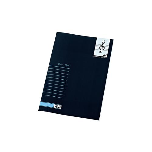 Caderno de Música Azul 20fls 60grs Classic Stripes A5